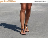 10% off Delicate And Stylish Barefoot Style Leather Thong Sandals - Sensation