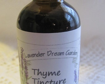 Thyme Tincture 50ml/1.7oz
