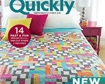 Fons and Porter's Quilting Quickly Magazine, September/October 2016 Issue