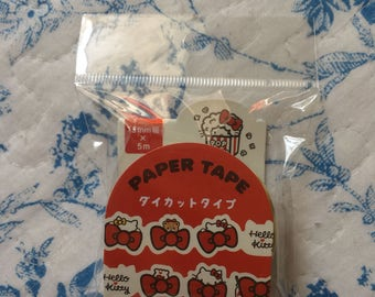 NEW Die cut Japanese masking tape sanrio Hello Kitty 15mm