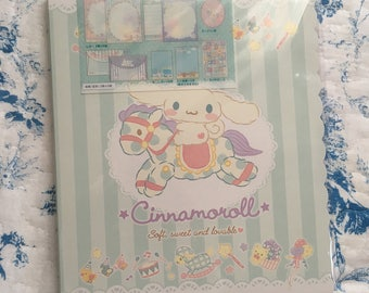 NEW Sanrio Letter set Cinnamoroll
