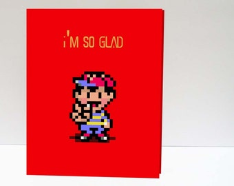 Earthbound inspired Valentine's Day Love Printable Card