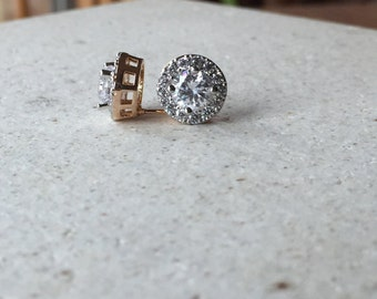 Gold filled stud earrings for your bridesmaid jewelry,  wedding jewelry, bridesmaid earrings,
