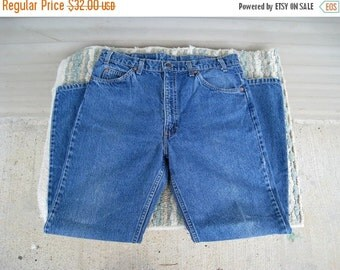 1970s Orange Tab Men's Levi's 517 Vintage Jeans / 34 X 30 Measured / Single Stitch / Great Condition