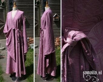 Sansa kimono dress in pink Damask - Size eu 38-40 / us 12-14 - (Cosplay, Larp, Renfaire, Comic Con) - <READY TO SHIP>