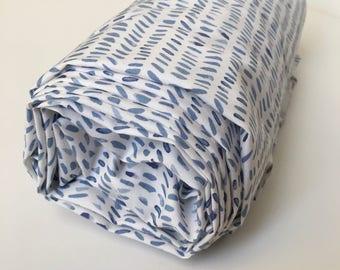 Crib Sheets / Fitted Crib Sheets / Baby Crib Sheet, Neutral Baby Bedding, Baby Bedding, Baby Boy Bedding, Neutral Crib Sheet, Splendid Rain