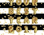 ON SALE Your Best Year 2017 INSTANT Download