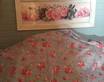 Vintage Cath Kidston Rosali F/Q duvet roses springtime make over!