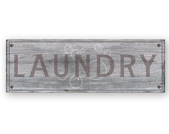 Distressed Laundry Sign Laundry Room Sign Laundry Room Organization Clothing Rack