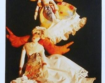 50%OFF Elinor Peace Bailey BAROQUE ANGEL Little Old Lady Original - Cloth Soft Body Sculptured Dolls Pattern