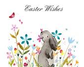 Handmade Easter Card Bunny
