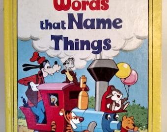 1978 Walt Disney's Words that Name Things