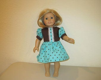 """18""""doll dresses to fit American Girl dolls"""