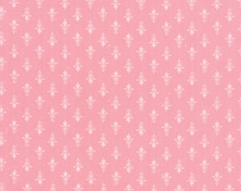 Kindred Spirits by Bunny Hill Designs - Fleur De Lis Pink - Moda 2893 15