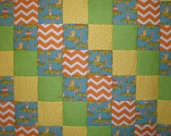 Lion King Patchwork  Quilt