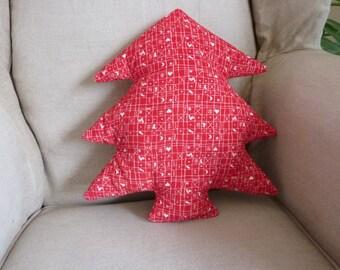 Christmas tree pillow christmas tree cushion christmas ornament christmas gift