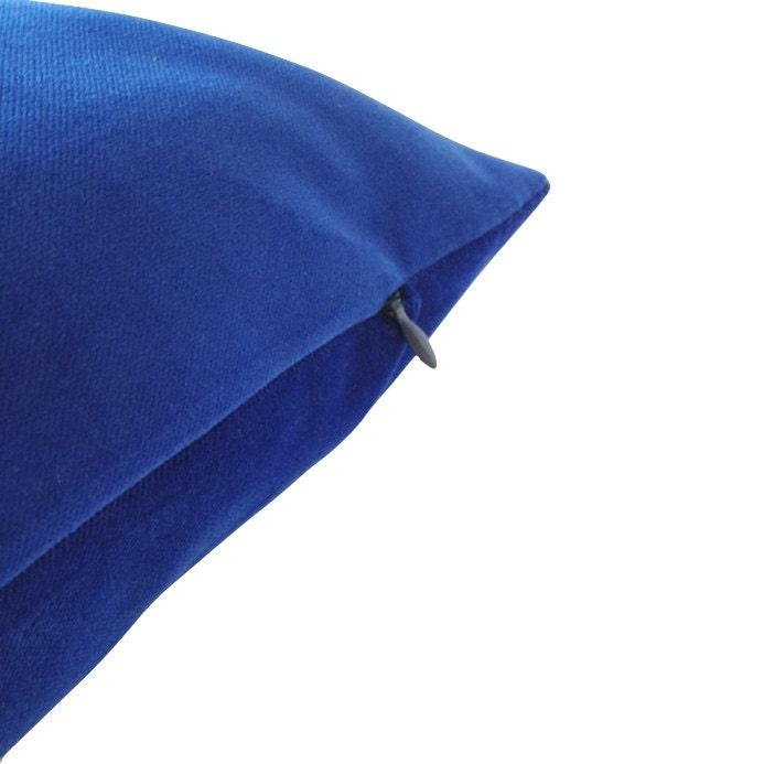 Royal Blue Decorative Pillow Cover 16x16 TO 26x26 Medium
