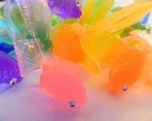 Grab Bag of 19 Vinyl Fish for Soap Embedding - DESTASH