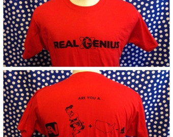 1985 Real Genius movie t-shirt, fits like a medium