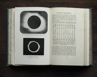 Antique astronomy book vintage 1910s Astronomy for All