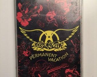 Aerosmith Permanent Vacation CASSETTE