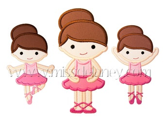 Ballerina Applique Designs