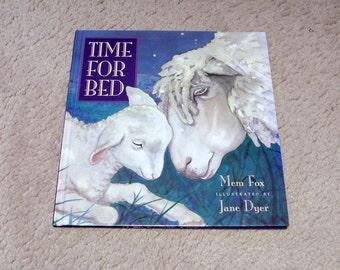 Time For Bed Children's Book - Mem Fox