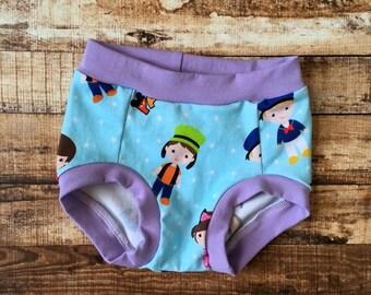 Mickey inspired underwear/ toddler underwear/ training underwear/ potty training/ little tush/ FLAWED