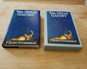 First Edition Library The Great Gatsby F. Scott Fitzgerald Facsimile