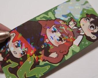 SALE harry potter prism bookmark
