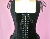 Custom Listing for thedancingdolphin - Bewitching Renaissance Bodice Steel Boned - Made to Order