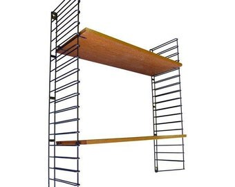 Mid Century MODERN String SHELVING Unit by Nils Strinning