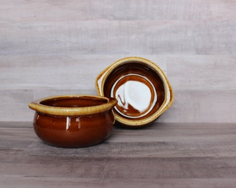 Set of Two Stoneware Ramekins