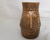 Westwood TIKI mug vintage 1960s mid-century Hawaiian Hawaii Japan pottery