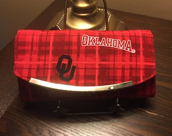 OU Sooners Oklahoma University Ladies Wallet NCW