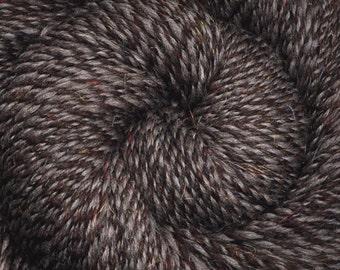 Handspun yarn - Silk / Trilobal Nylon / Merino Wool yarn, DK weight - 470 yards - Twilight City 2