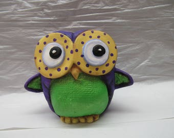 Owl Painted