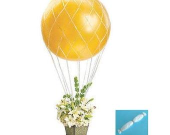 Balloon Nets for 36 inch Round Balloons Hot Air Balloon Net / Made of Polypropylene Fiber (plastic)