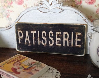 Patisserie Sign for Dollhouse