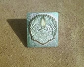 Tandy 3D Leather Stamp - Motorcycle Stamp - Biker Stamp - Live To Ride - Leather Stamp Tool - Elusive Wolf
