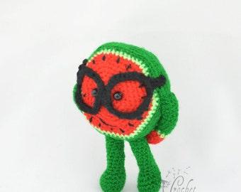 Wyatt Watermelon Crochet Pattern Italian Artist