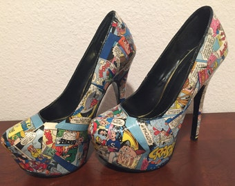 Archie Comic Book Heels