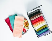"""Unpaper Towels Cloth Napkins 12 Flannel Tissues  Cleaning Cloths - Choose your color and your size (8""""x 8"""" or 10"""" x 12"""")  - 1 PLY"""