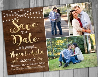 Save The Date Wedding Save The Date Save The Date Magnet Rustic Save The Date Printable Save The Date Save The Date Card Photo Save The Date