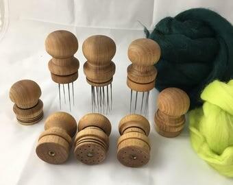 Needle felting tools, multineedle tool, needle felting supplies