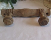 Vintage French small bamboo style coat/hanging rack.  Country cottage chic