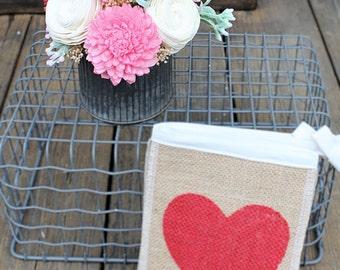Small Floral Arrangement, Wedding Reception Centerpiece, Valentine's Day, Sola Wood Flowers, Faux Flowers, Home Decor, Wedding Decor