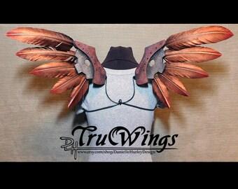 Steampunk Angel Wings Costume OOAK