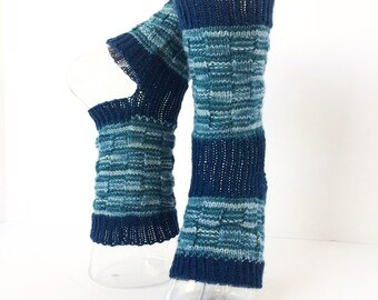 Yoga Socks-Hand Knit-Pilates-PiYo-Dance Socks-Boho Yoga Socks-Pedicure Socks-Bohemian Yoga Socks-Hipster Sox-Unique Original-Basket Weave