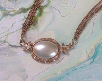 Vintage multi strand Michele Lynn necklace